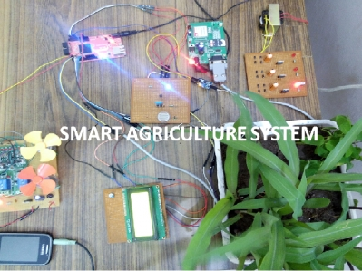 Smart agriculture (2nd prize in GRDC 2015 in India)